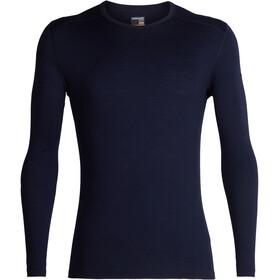 Icebreaker M's 200 Oasis LS Crewe Shirt Midnight Navy